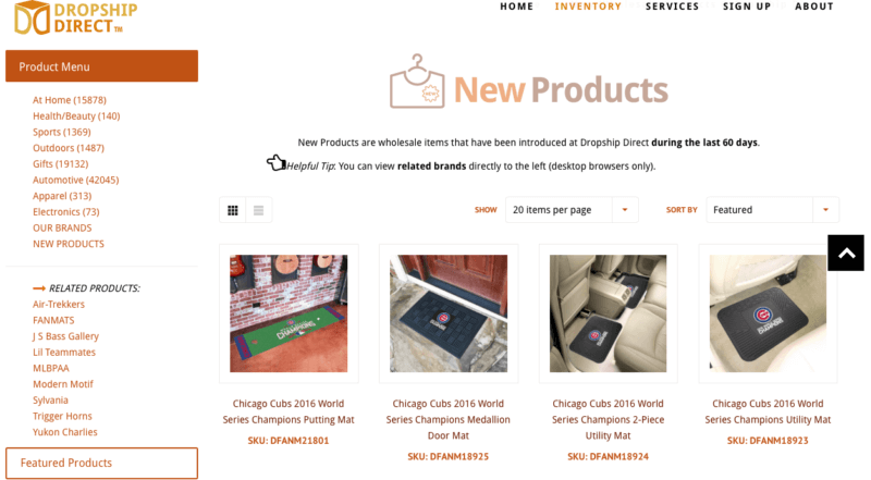 Dropship Direct product catalog