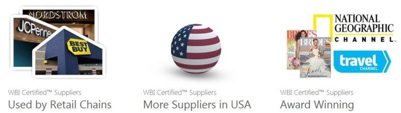 Worldwide Brands certified suppliers