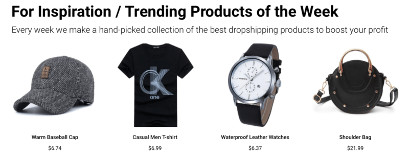 Dropwow trending products